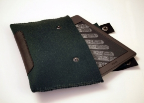 felt kindle bag custodia feltro
